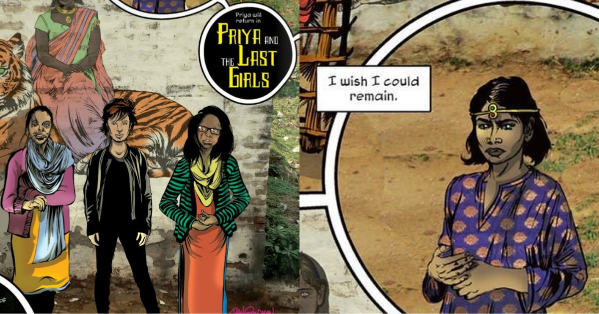 How the World Bank got involved with a comic book series on crimes against women