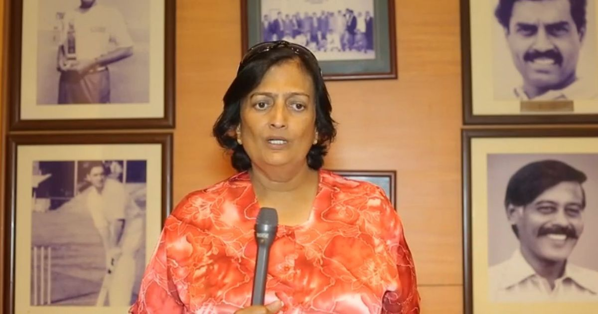 Former captain Shanta Rangaswamy to receive first Lifetime Achievement Award for Women from BCCI