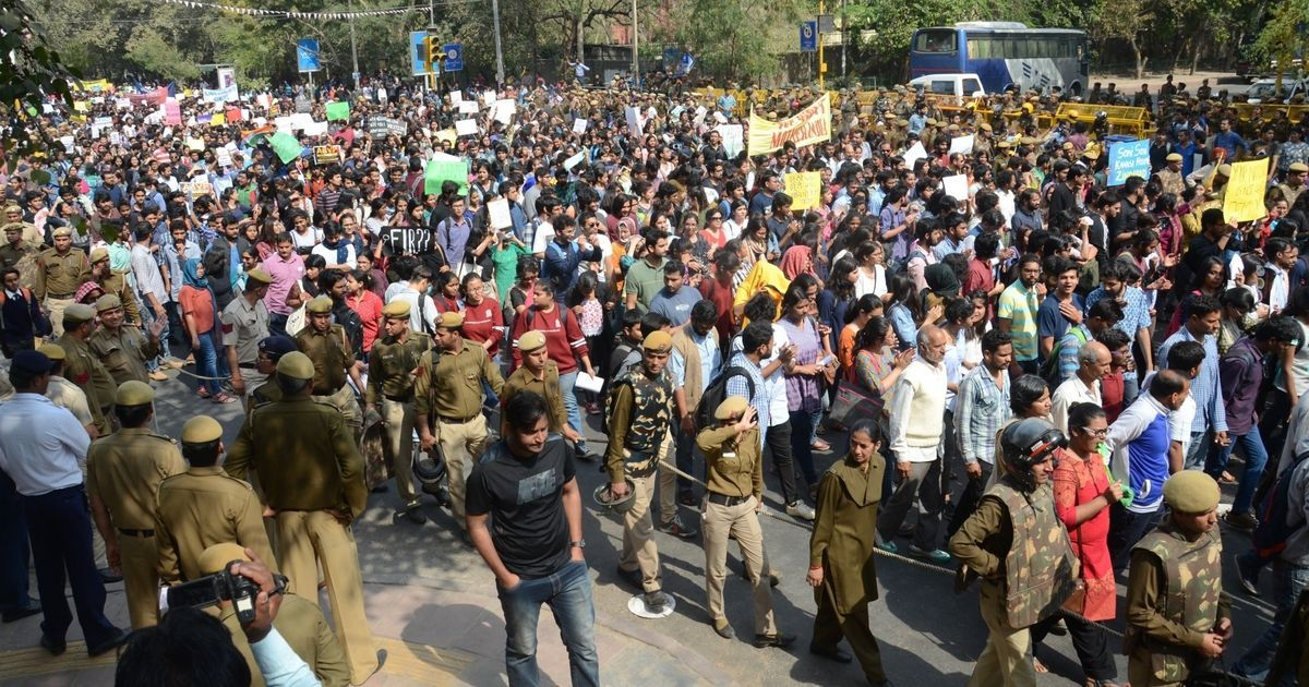 Ramjas violence: Two ABVP activists arrested for allegedly attacking AISA members