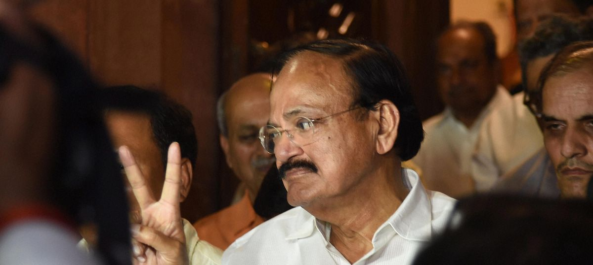 Centre may bring demands for 'azaadi' under sedition law, hints Venkaiah Naidu