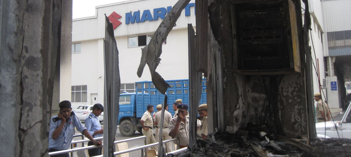 2012 Maruti Manesar plant violence: Haryana court convicts 31 workers of rioting