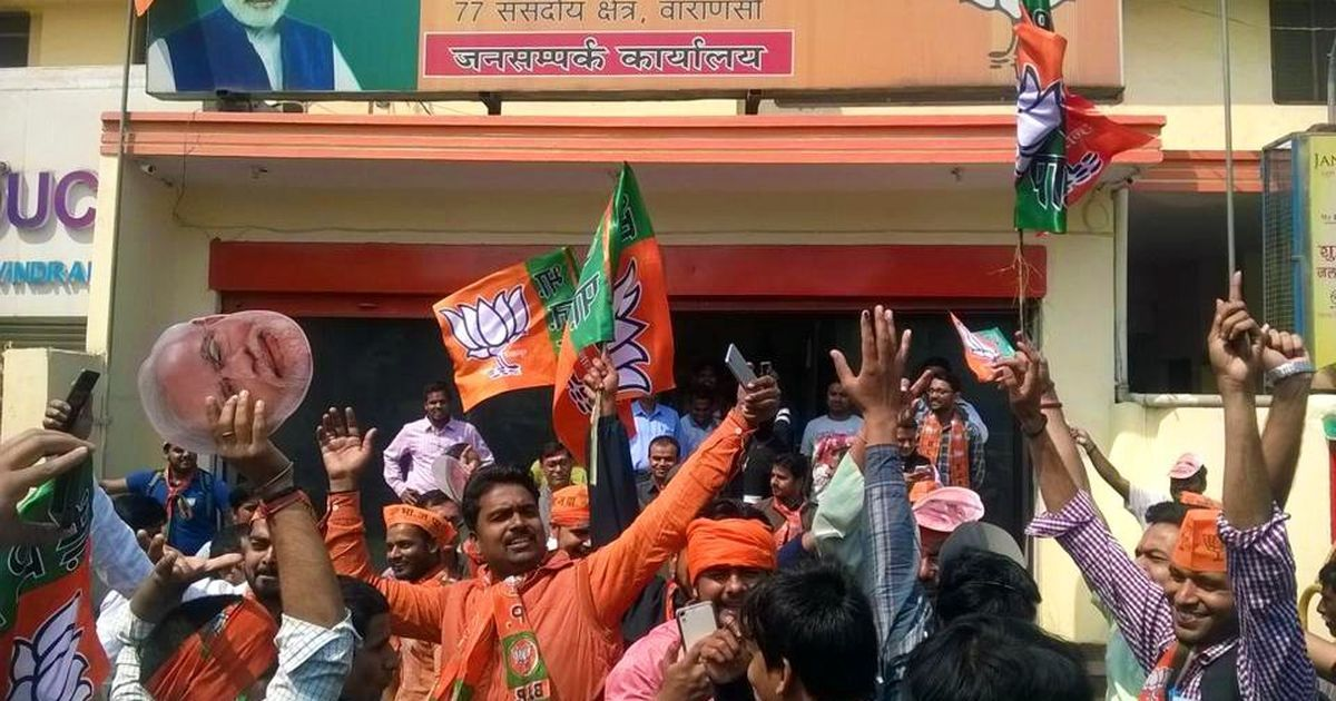UP election results 2017: BJP crosses 300-seat mark, biggest victory in 37 years
