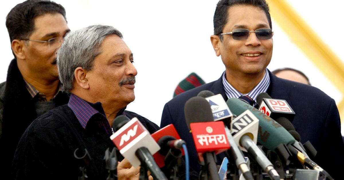 Goa: Manohar Parrikar resigns as defence minister, to take oath on Tuesday