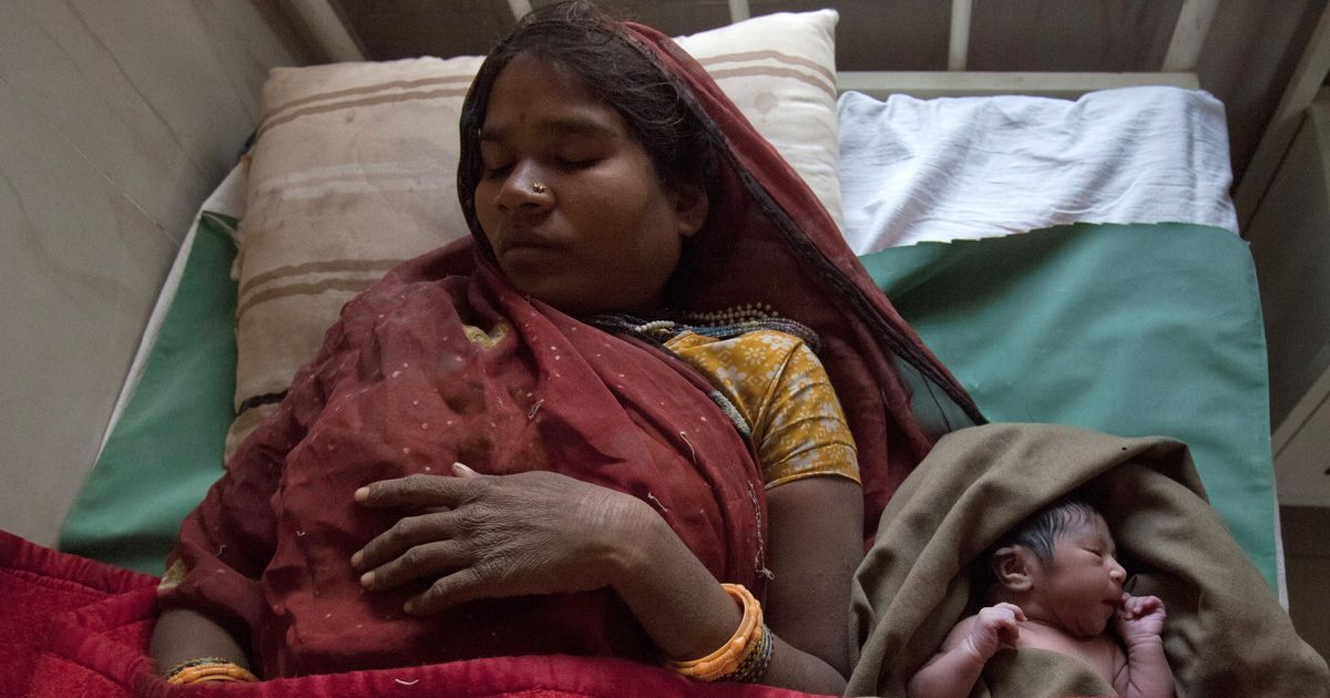 Both the US and India fall short on care of women during childbirth