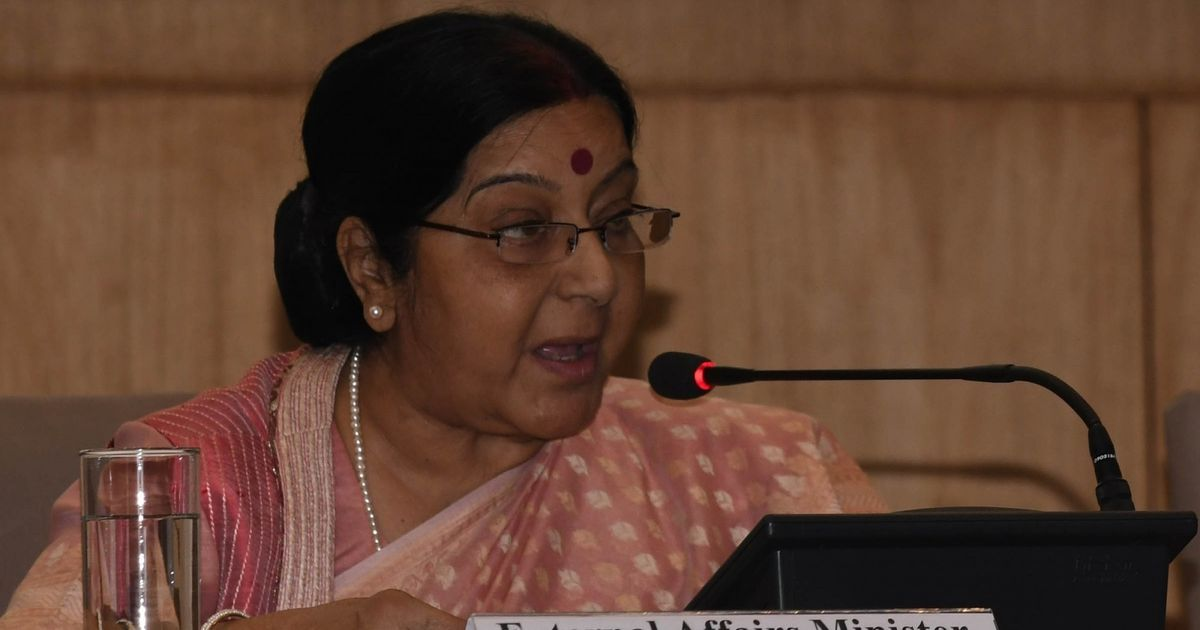 Attacks on Indians in US are 'stray incidents', Sushma Swaraj says in Parliament