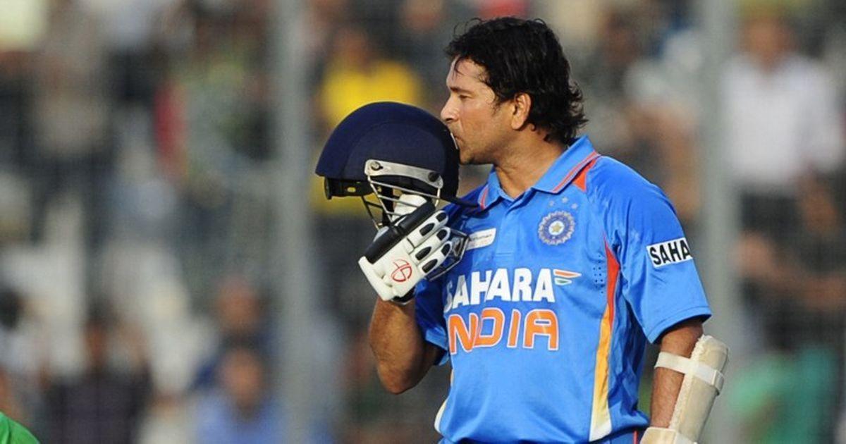 Watch: When Sachin Tendulkar got his 100th international hundred