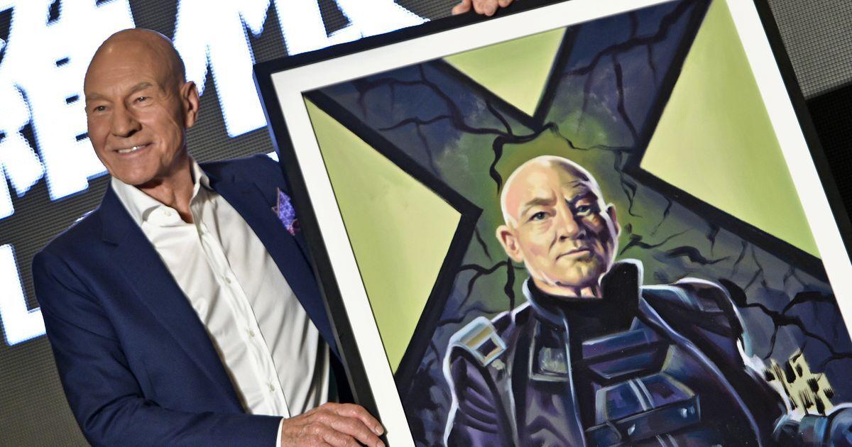 X-men's Patrick Stewart says medical marijuana helped him cope with his arthritis
