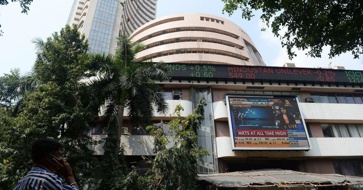 Indian bourses lose momentum, Sensex and Nifty close marginally high