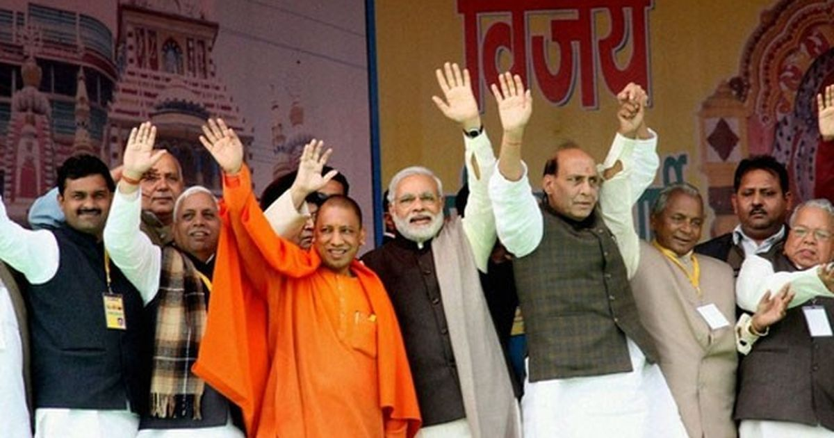 Yogi Adityanath is BJP's CM-designate for Uttar Pradesh, will take oath tomorrow