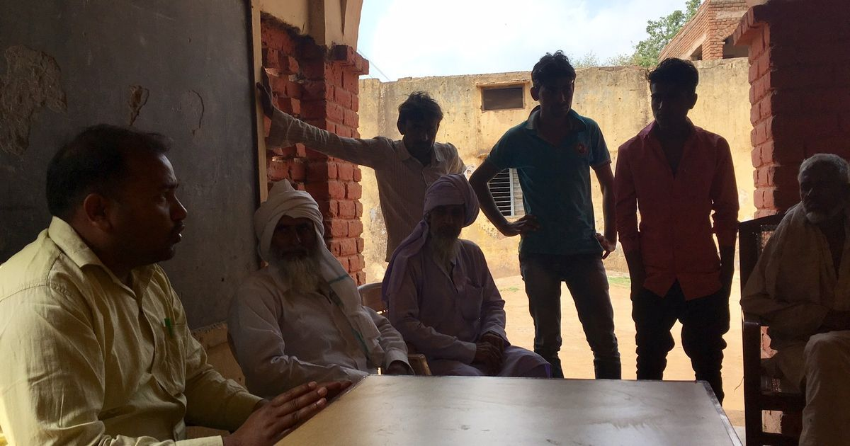 A mistrust of BJP government has made Muslim Meo residents of Mewat suspicious of health campaigns