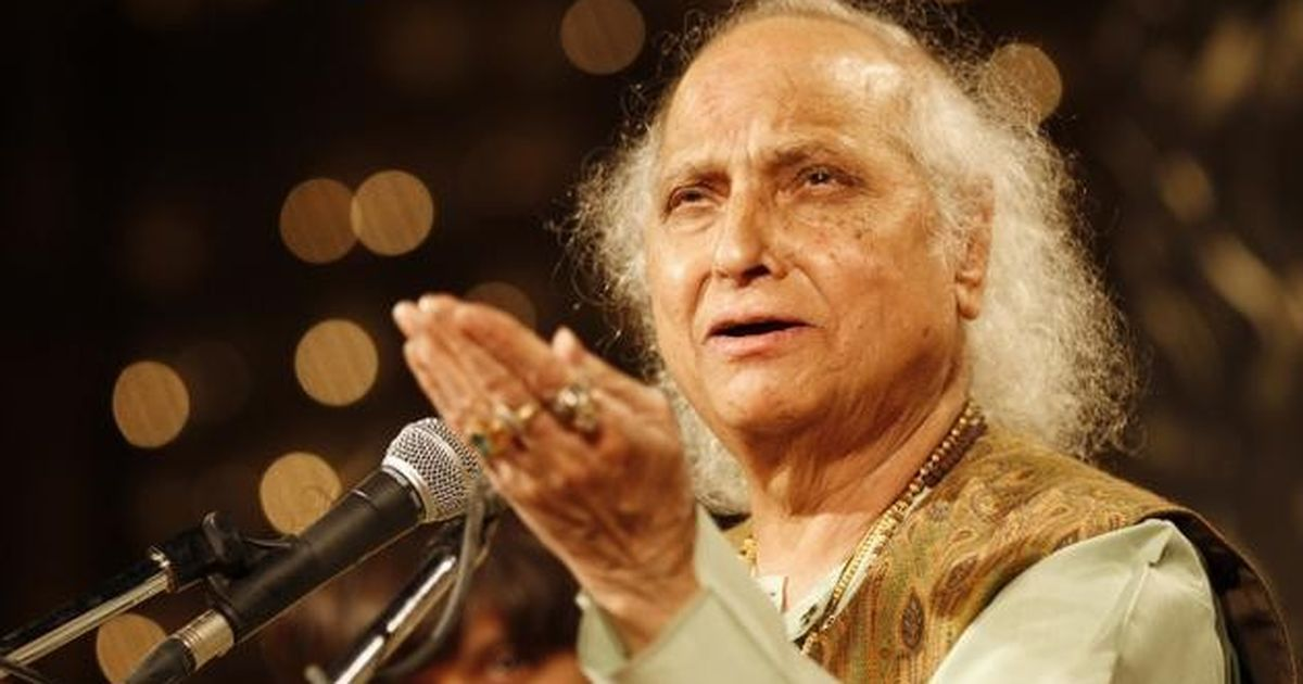 Cinema classical: Singing for the gods, Pandit Jasraj took time out to enthral mortals