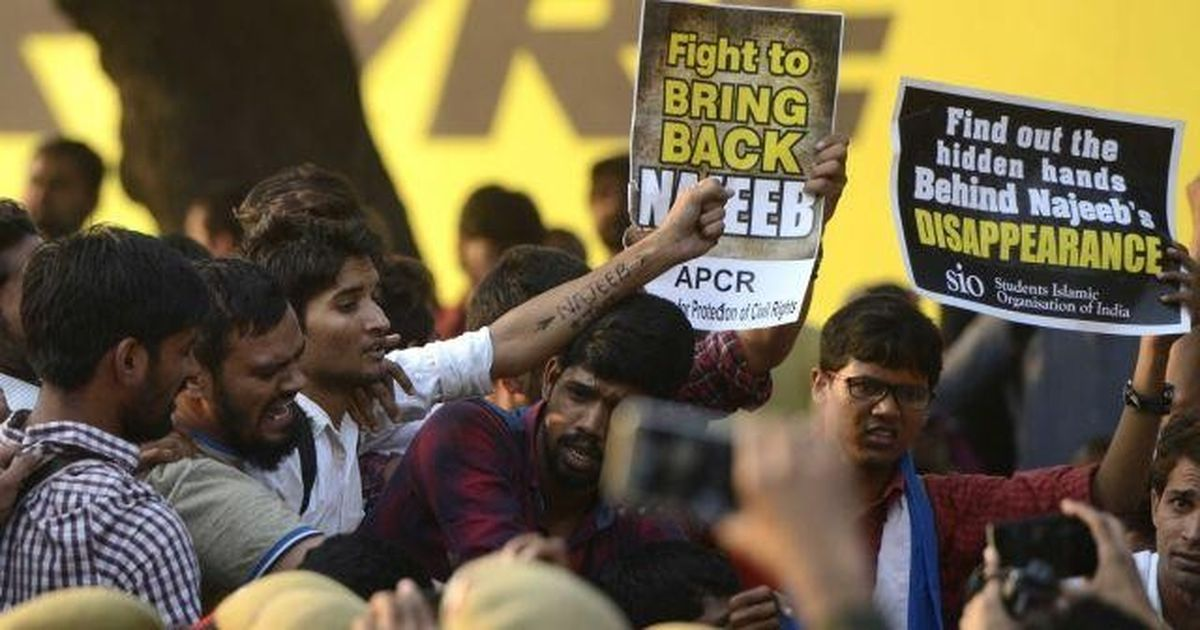 JNU missing student: Delhi Police say no Islamic State link found in Najeeb Ahmad's case so far