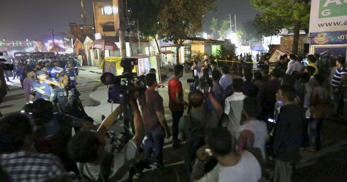 Bangladesh: Bomber dies in an attempt to attack Dhaka airport, no other casualties reported