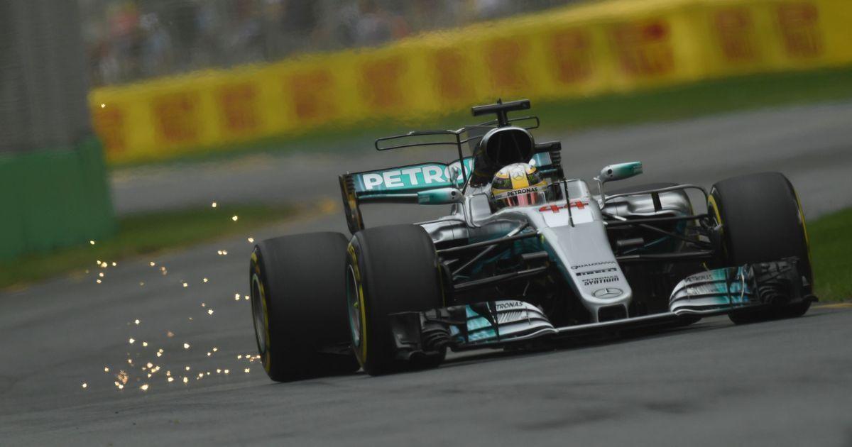 Australian GP: Lewis Hamilton grabs pole, Sebastian Vettel second
