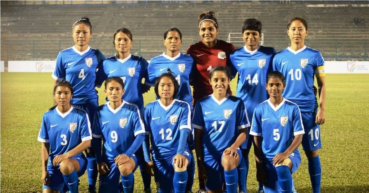 India women's football team slips two places to 56th in the FIFA rankings