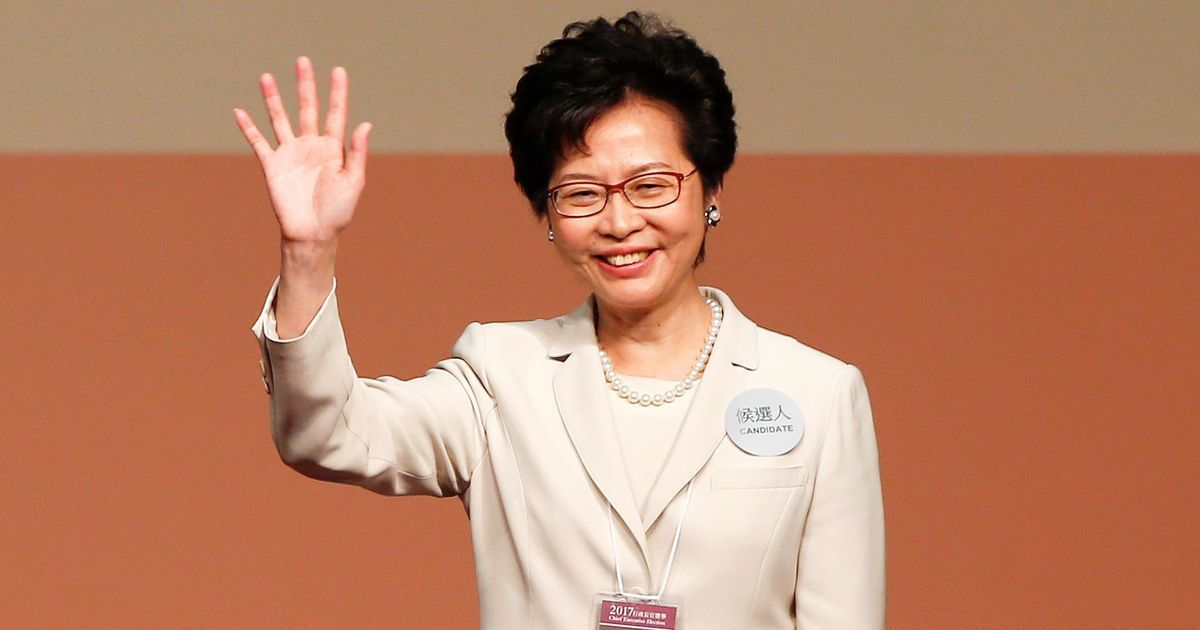 Carrie Lam becomes Hong Kong's first female leader