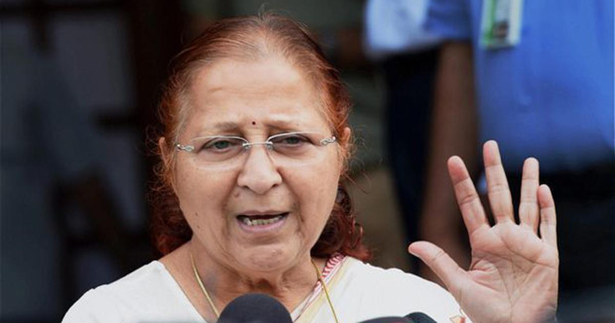 Air India brawl: MPs cannot take trains every time they have to travel, says Sumitra Mahajan
