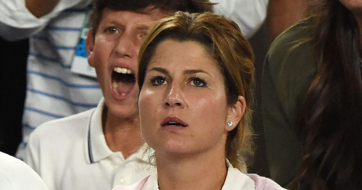 Mirka Federer criticised after jeeringly whistling at husband Roger's opponent Nick Kyrgios