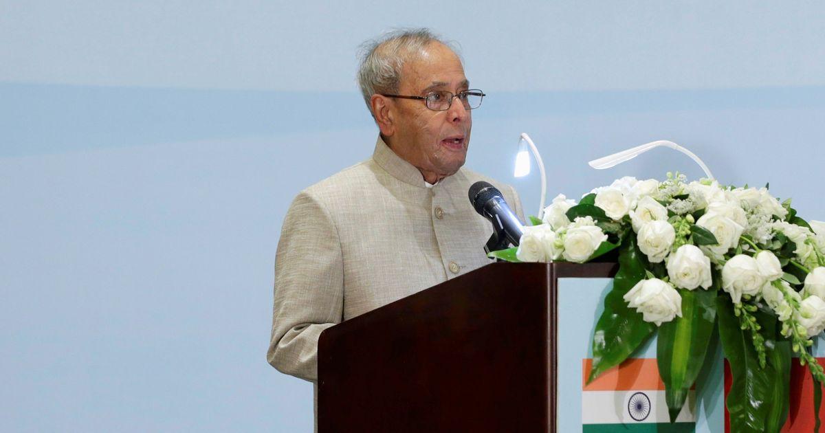 Indians are argumentative but not intolerant, says Pranab Mukherjee