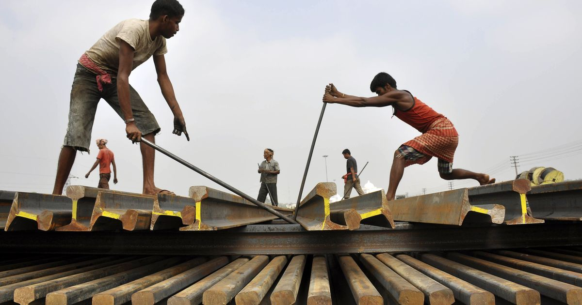 India's railway tracks are burdened by too many trains – leading to frequent derailments