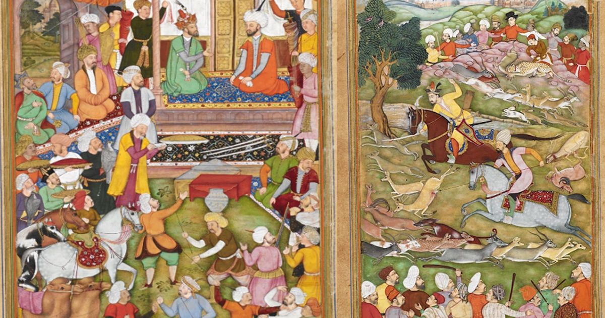 How was Emperor Humayun received by Shah Tahmasp of Iran? Manuscripts offer contrasting views