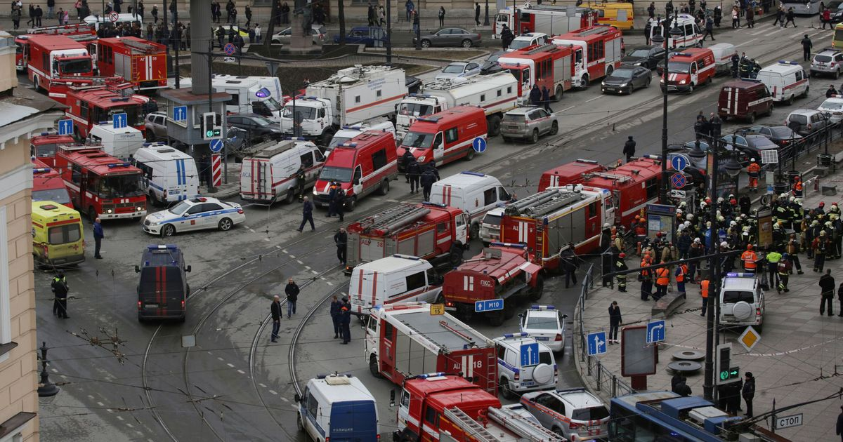 The big news: Several killed in explosion at St Petersburg metro station, and nine other top stories
