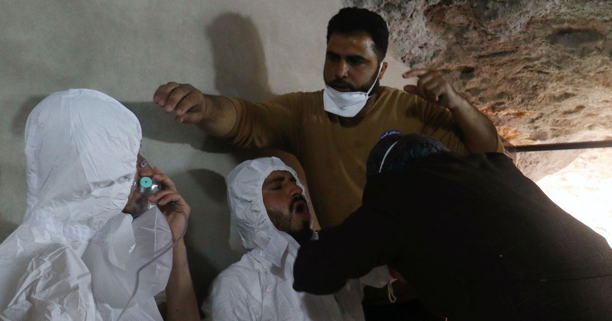 US, Britain and France propose UN resolution against suspected chemical attack in Syria