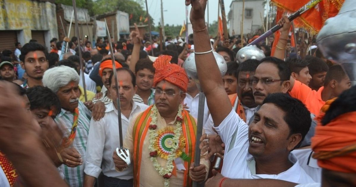 West Bengal BJP chief booked for taking out sword procession on Ram Navami