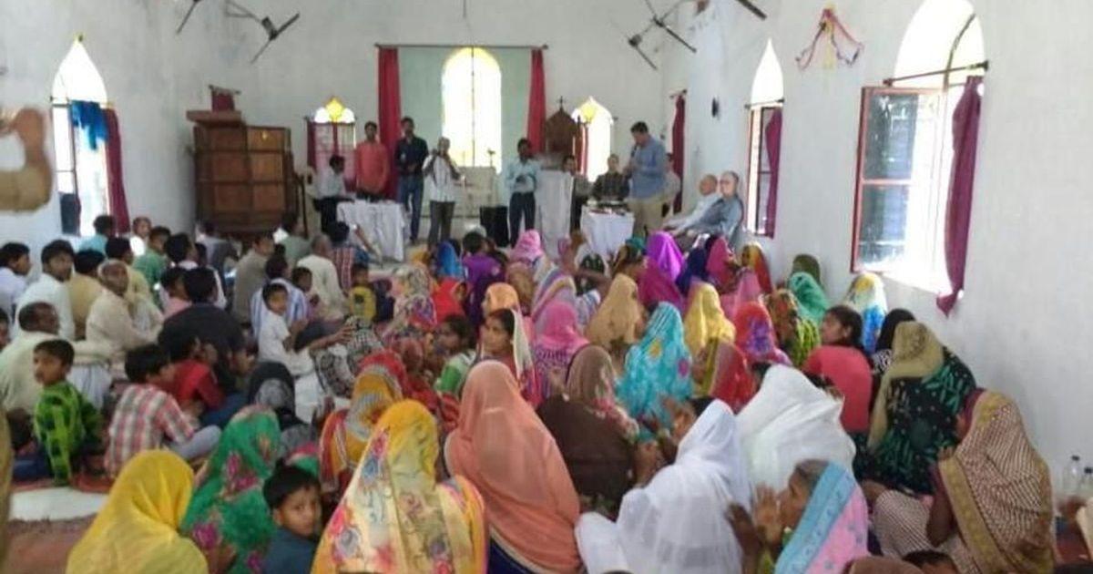 UP: Yogi Adityanath's Hindu Yuva Vahini disrupts church meet alleging forced religious conversions