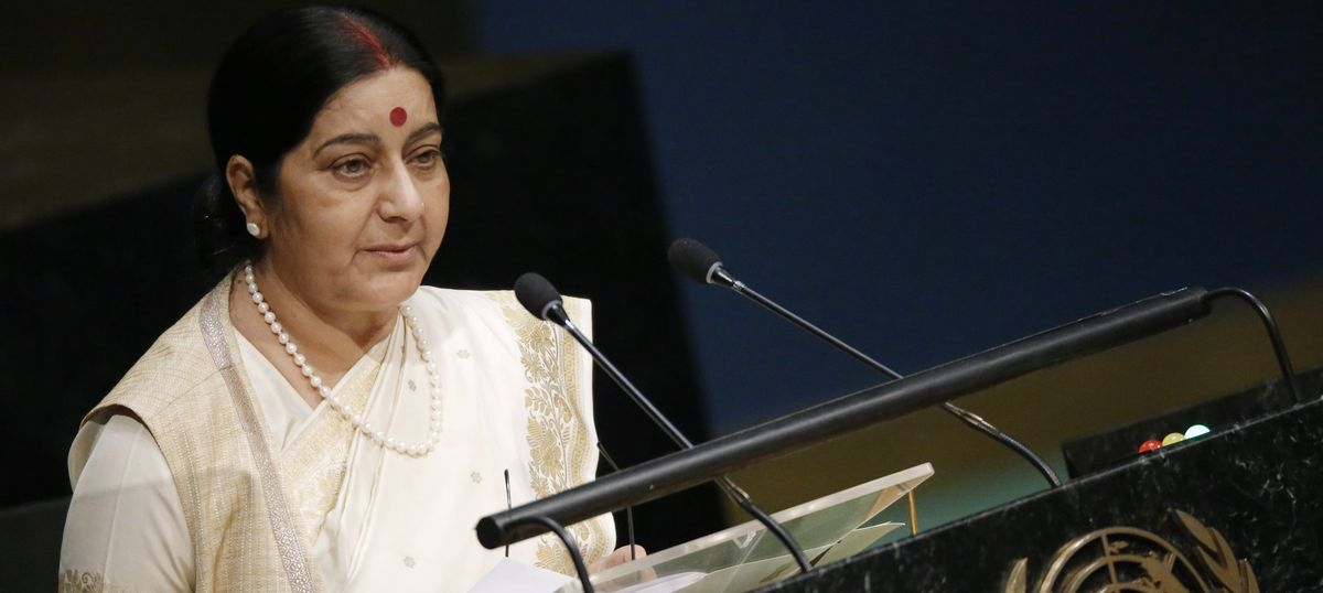 The big news: Sushma Swaraj takes note of Indian shot dead in Washington, and 9 other top stories