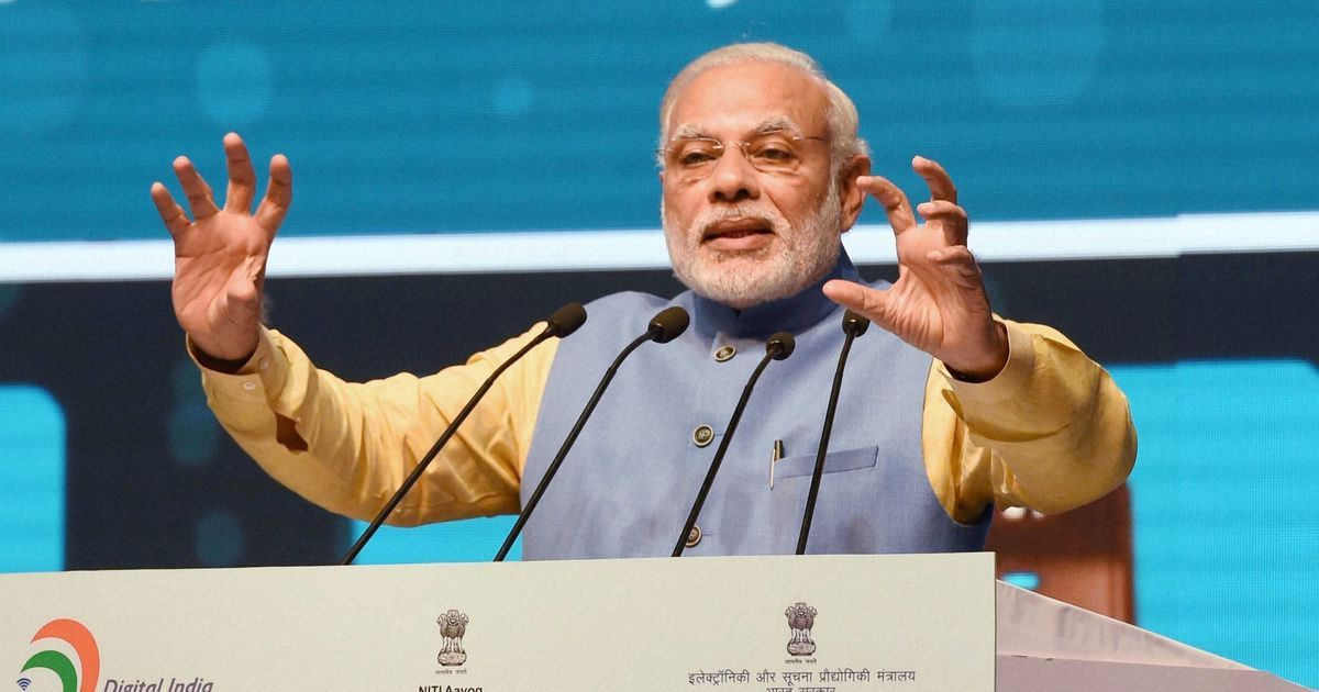 Narendra Modi launches Bhim-Aadhaar platform for merchants