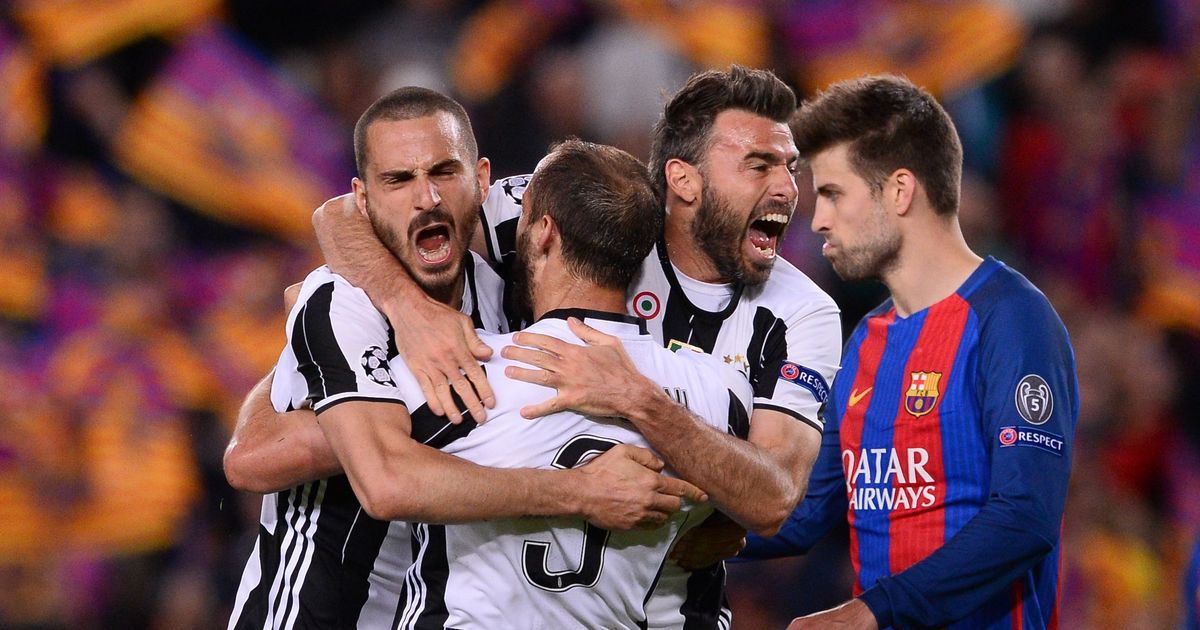 Juventus shut out Barcelona to deny another Nou Camp miracle, Monaco end Dortmund's misery