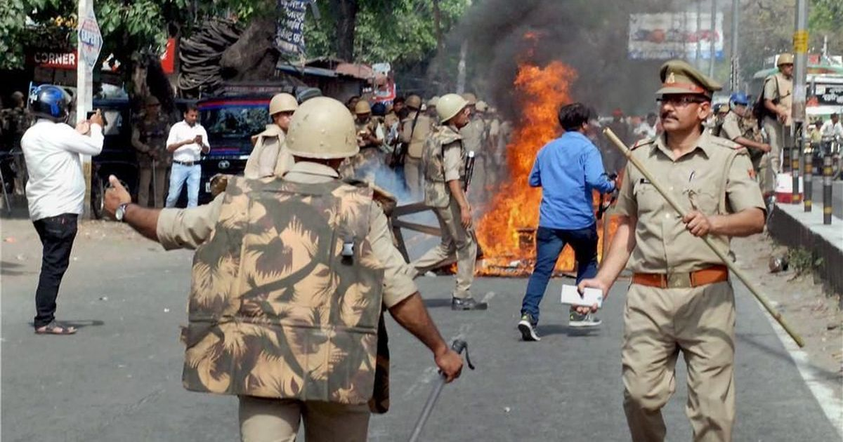 Saharanpur violence: Uttar Pradesh Police register two FIRs against a BJP MP and 300 others