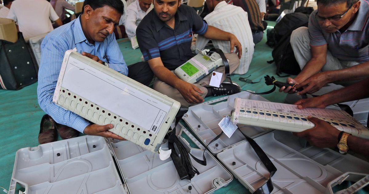 Delhi MCD polls: Poor turnout, EVM trouble mars election day