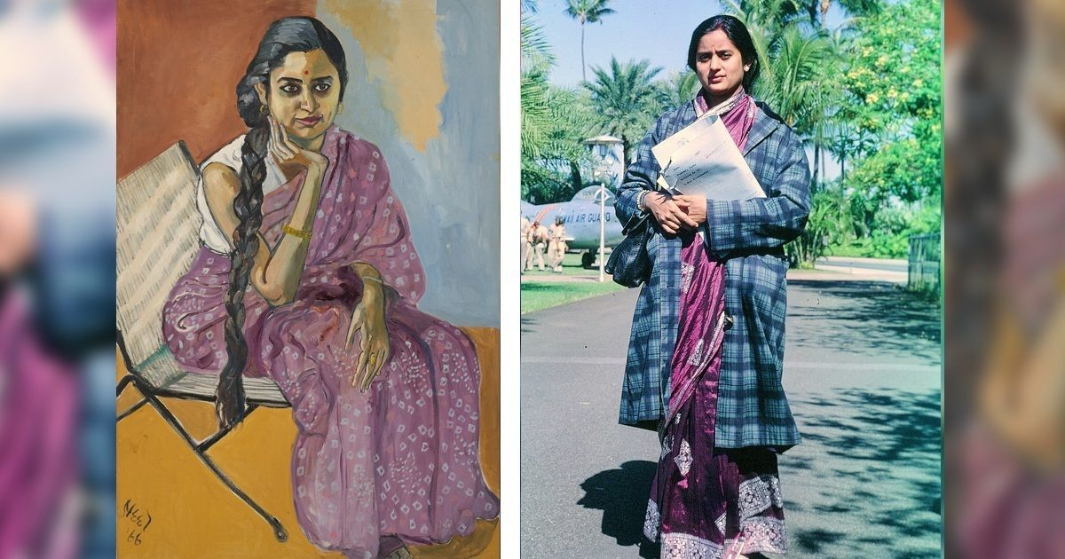 The Indian woman who sat for a notable American portrait in the '60s and forgot about it – until now
