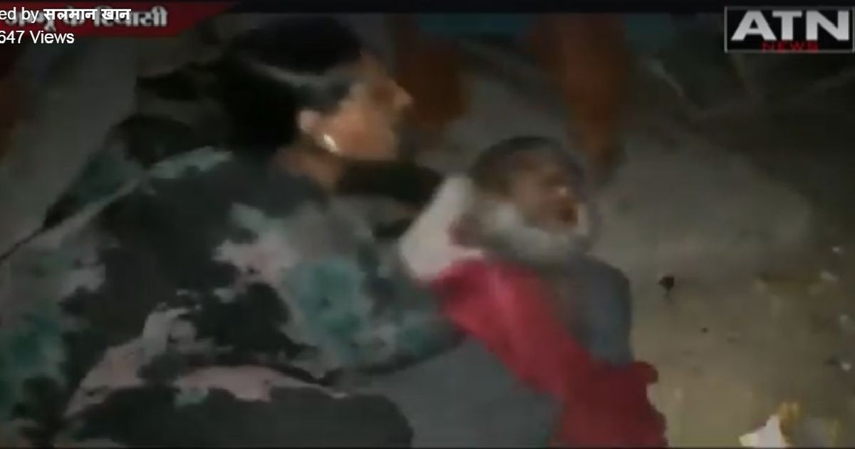 Chilling video seems to show how Jammu cow vigilantes brutally attacked a family of nomadic herders