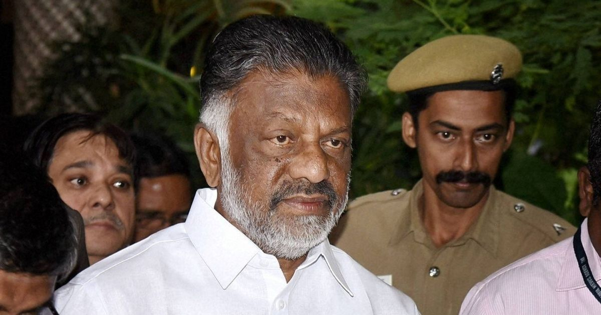 AIADMK merger: OPS faction accuses leaders of Palaniswami camp of making 'loose statements'