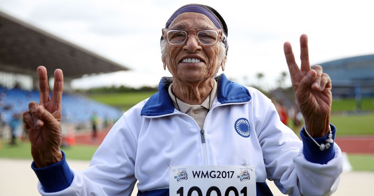 A 101-year-old woman from Chandigarh won a 100-metre sprint in Auckland, New Zealand