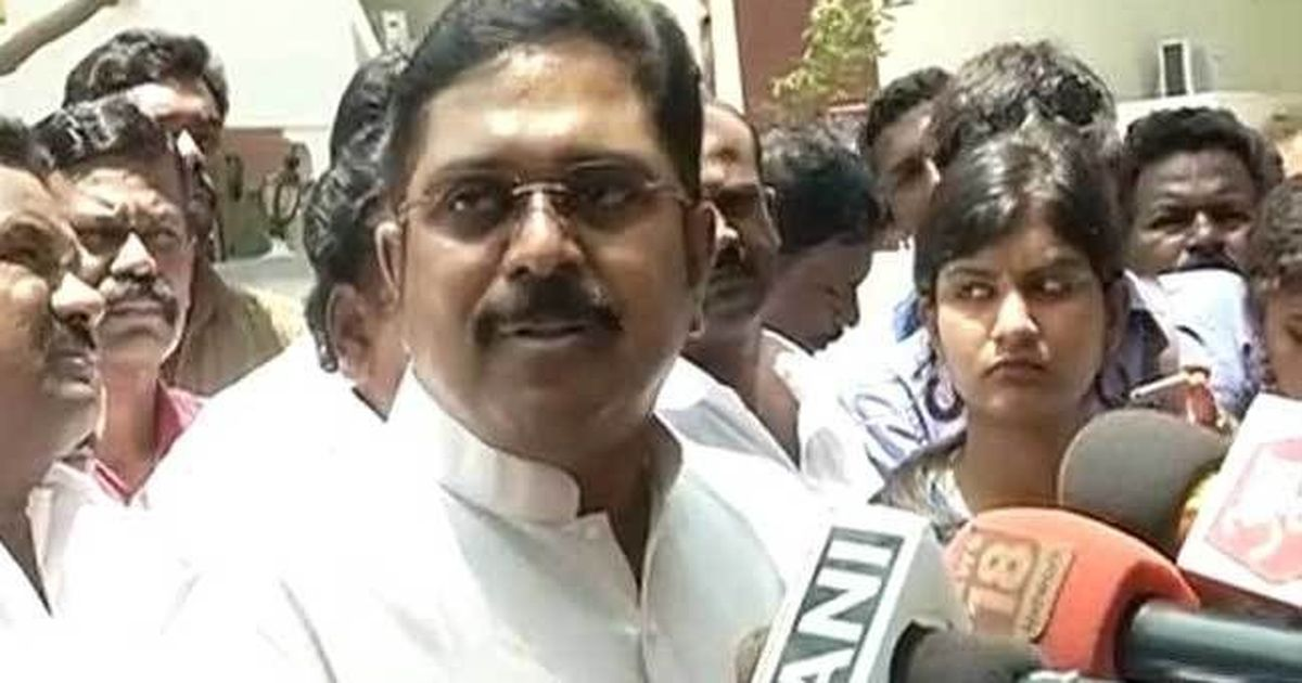 EC bribery case: Why is the Delhi Police not taking action against TTV Dinakaran, asks court