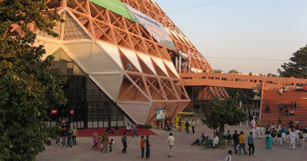 The demolished Hall of Nations was a terrific example of a young country's Make in India spirit