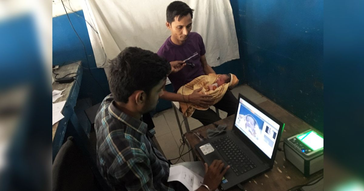 Haryana is making babies enrol in Aadhaar before it will issue them birth certificates