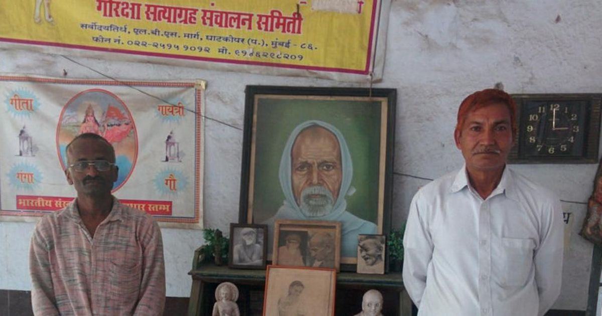'Those who are violent can't be gau rakshaks,' says man who fought to end cow slaughter for 33 years