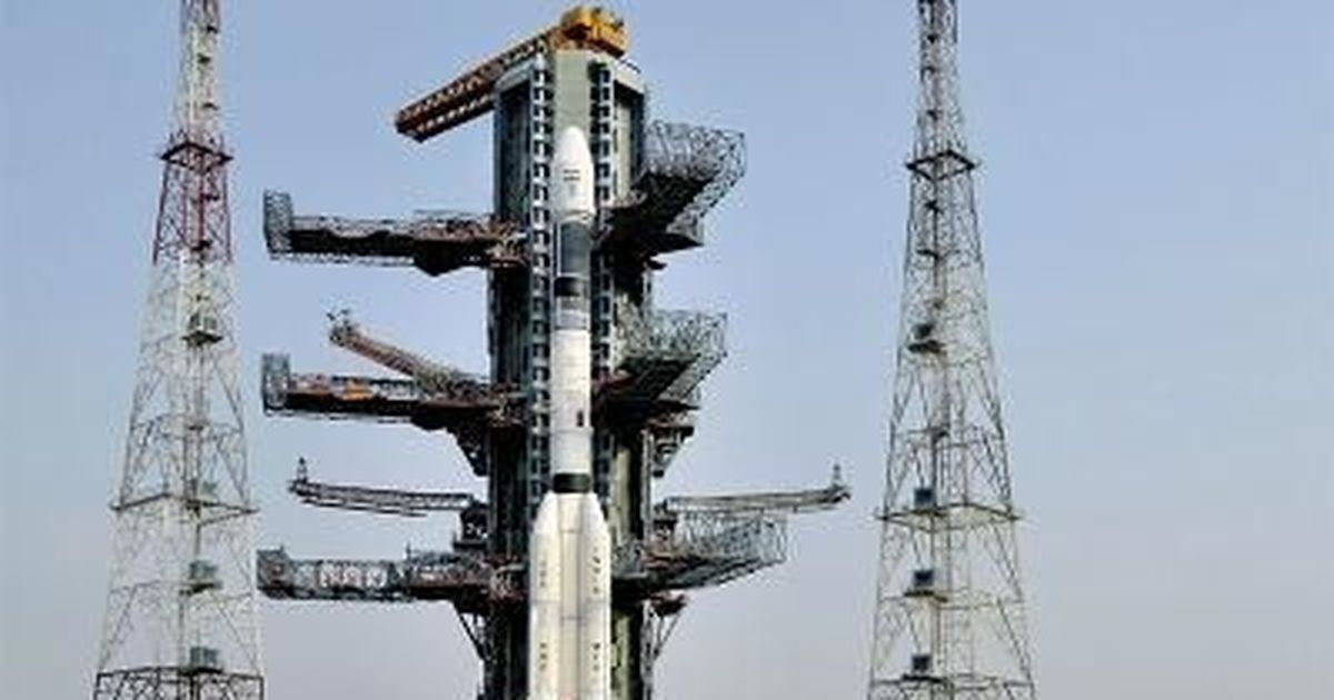 India launches its communications satellite for South Asia, which Pakistan had snubbed
