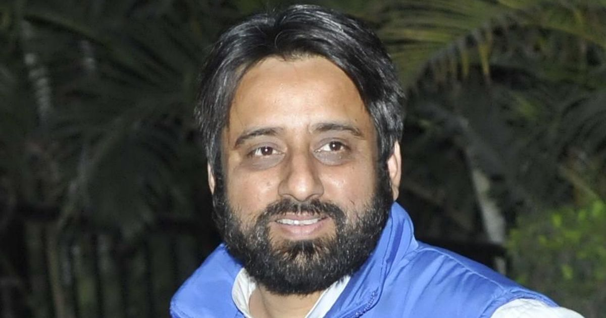 Delhi: Suspended AAP leader Amanatullah Khan made chief of Assembly panel on welfare of minorities