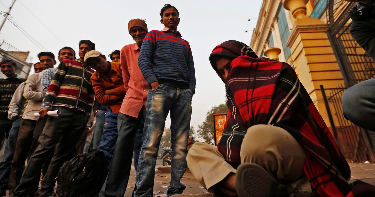 Six months after demonetisation, many who lost their jobs in Delhi's factories struggle to find work