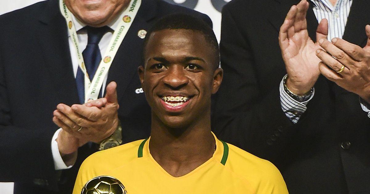 Real Madrid set to sign Brazilian under-17 star Vinicius Junior for €45 million