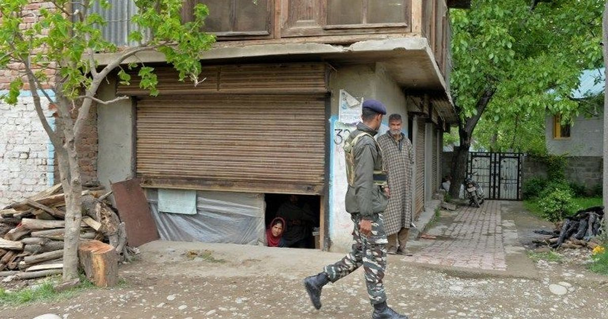 'To whom do we complain?': Massive search operation in South Kashmir has left scars, broken windows