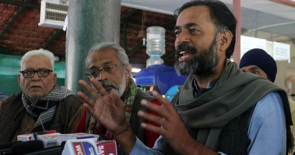 Does Yogendra Yadav consider Kejriwal and AAP to be a bigger ideological foe than Modi and the BJP?