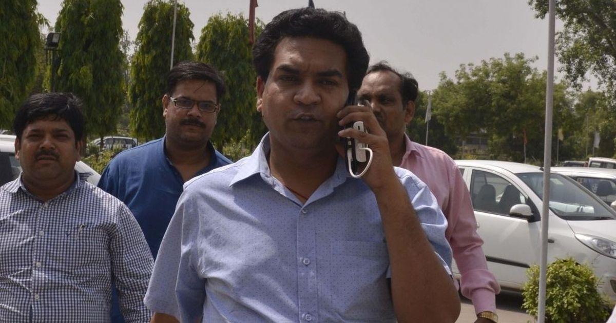 Former AAP leader Kapil Mishra begins hunger strike against alleged misuse of public money