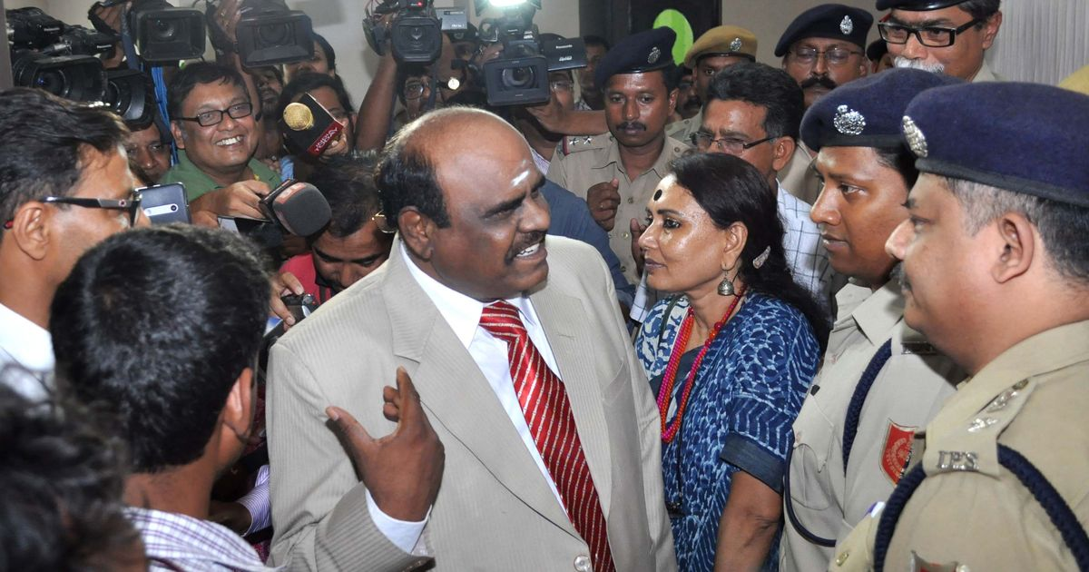 Police team fails to find and arrest Justice Karnan in contempt of court case